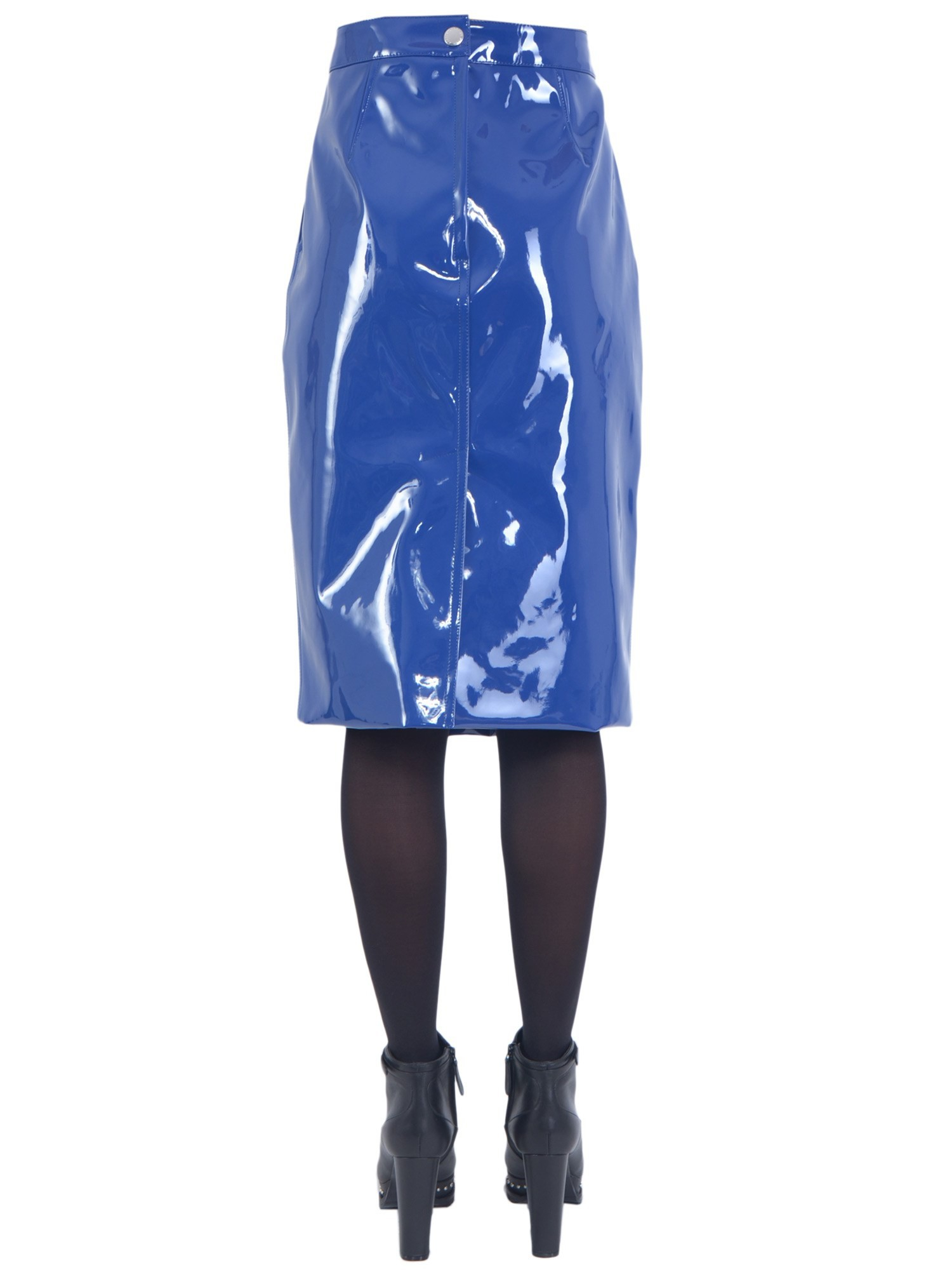 Beautiful Marc By Marc Jacobs Mini Skirt In Blue  Lyst