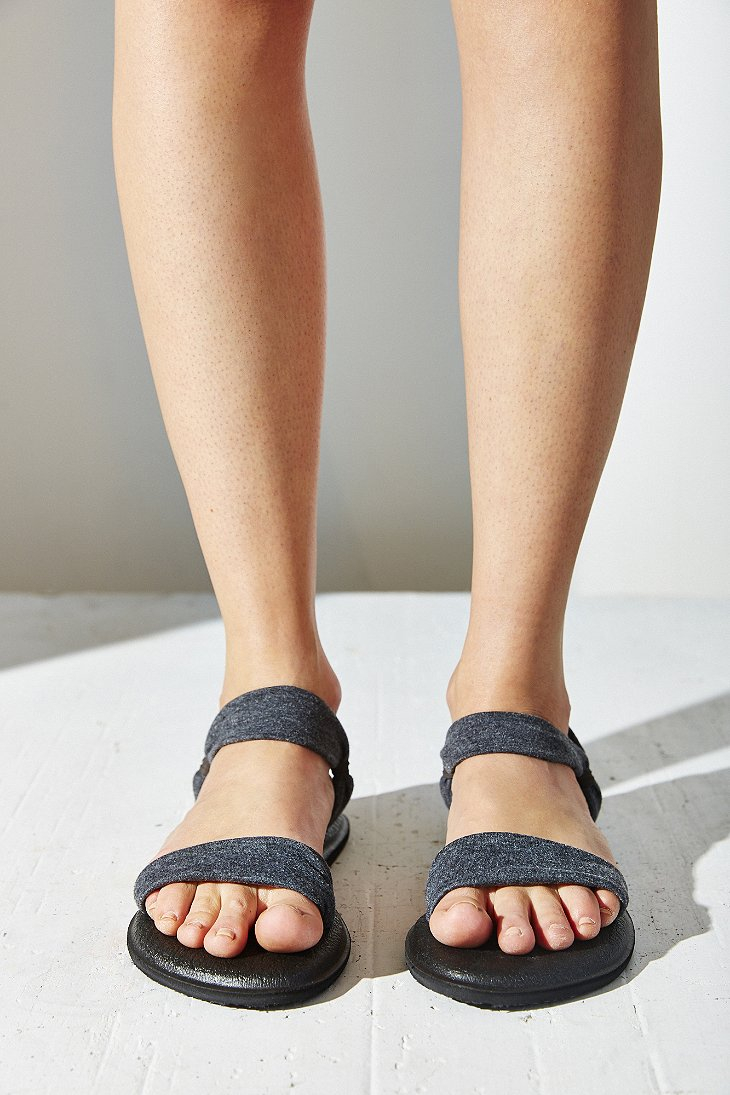 Lyst Sanuk Yoga Duet Sandal In Gray