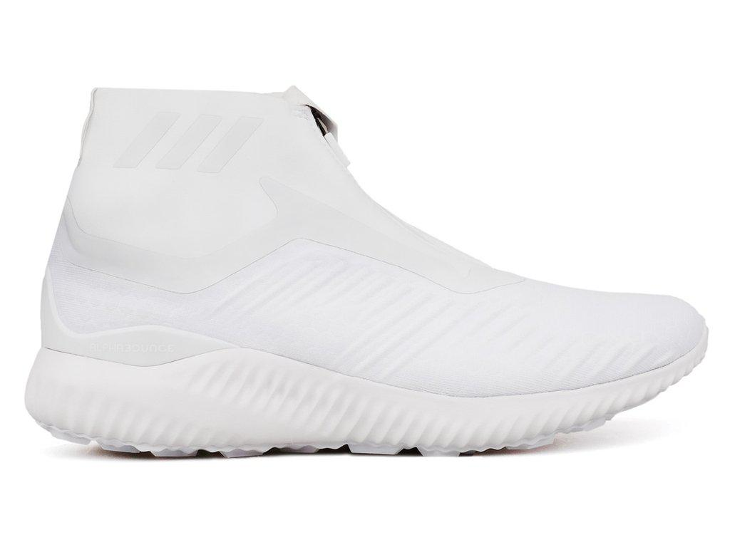 huge selection of 4f954 e5c12 Lyst - Adidas Alphabounce Zip in White for Men