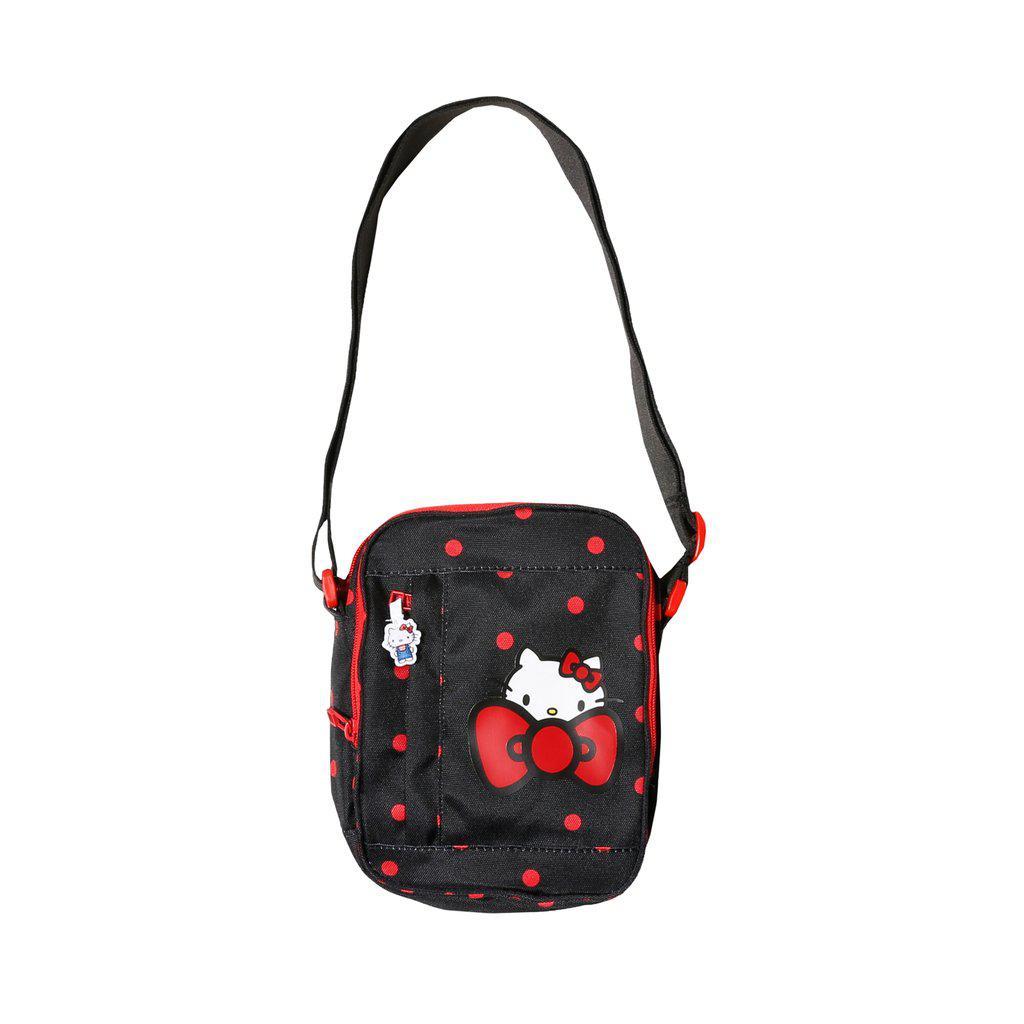 Lyst - Converse X Hello Kitty Cross Body Bag in Black 28983c9c09