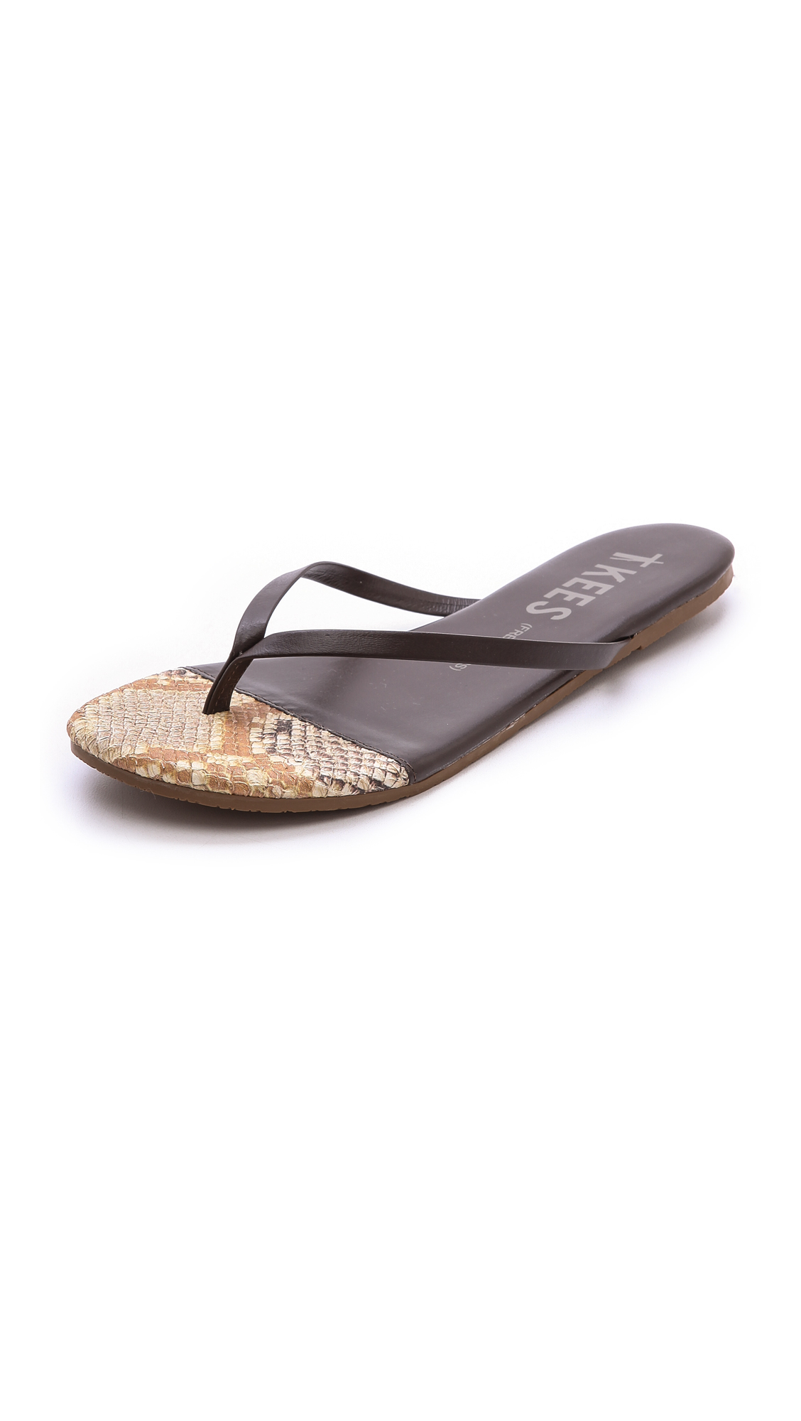 TKEES Flip-Flop-French Tips 9cZv2rJ7
