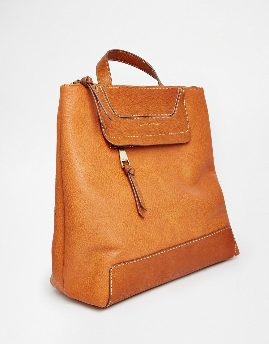 Lyst - Fiorelli Cobain Backpack in Orange