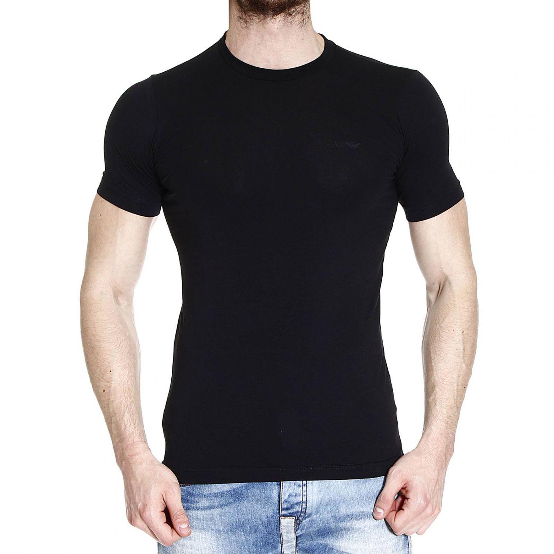Lyst Giorgio Armani T Shirt Half Sleeve Crew Neck Basic