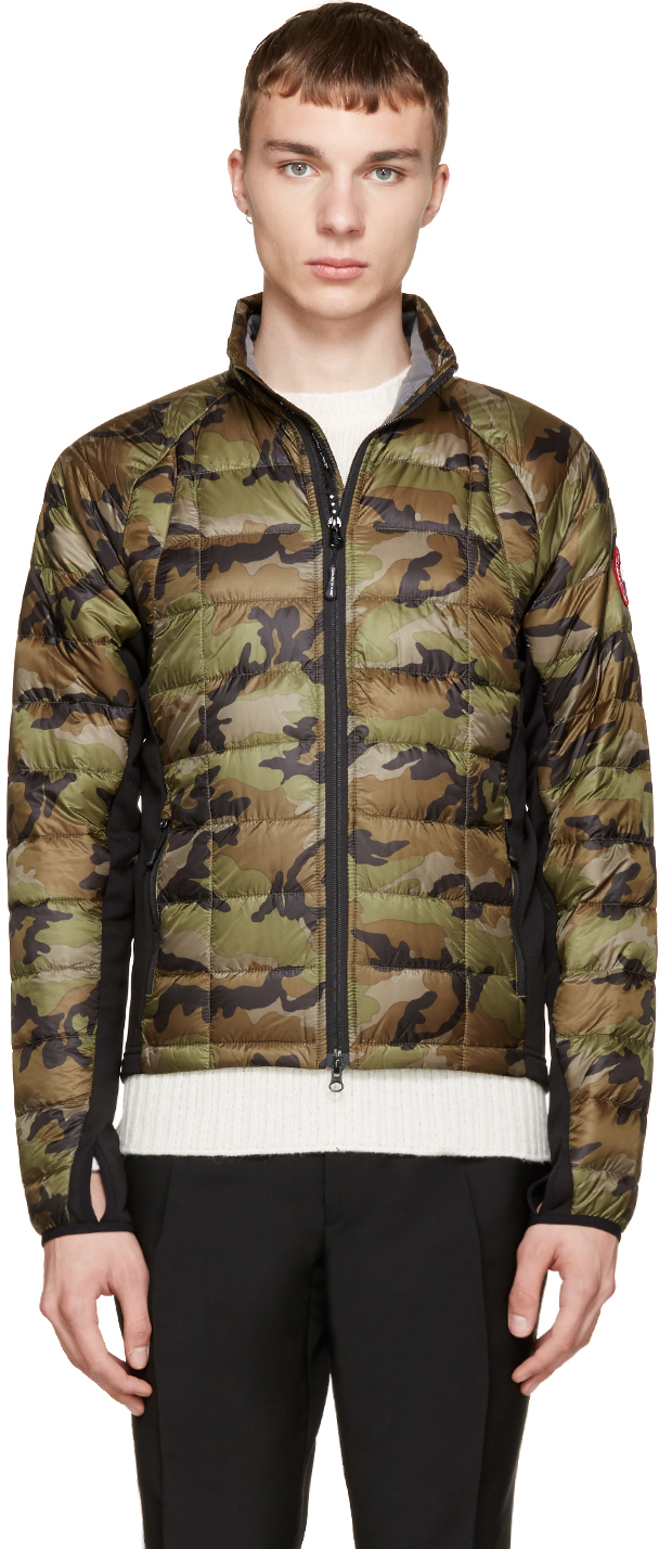 Canada Goose vest replica authentic - Canada goose Green Camo Hybridge Light Jacket in Green for Men | Lyst