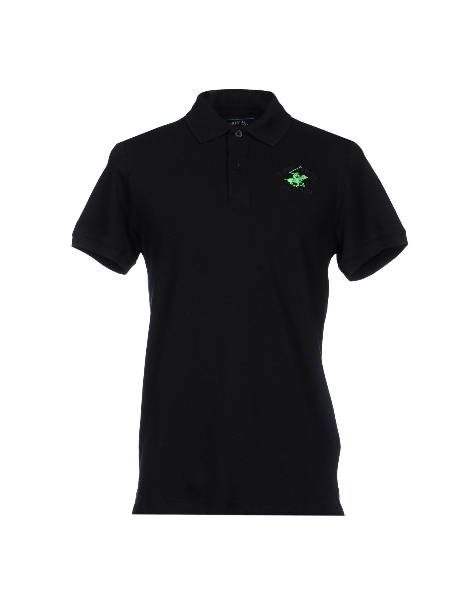 Beverly Hills Polo Club Polo Shirt In Black For Men Lyst