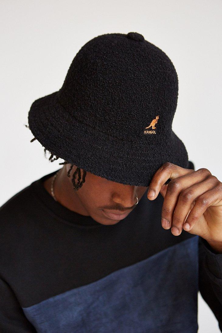Lyst Kangol Winter Bermuda Bucket Hat In Black For Men