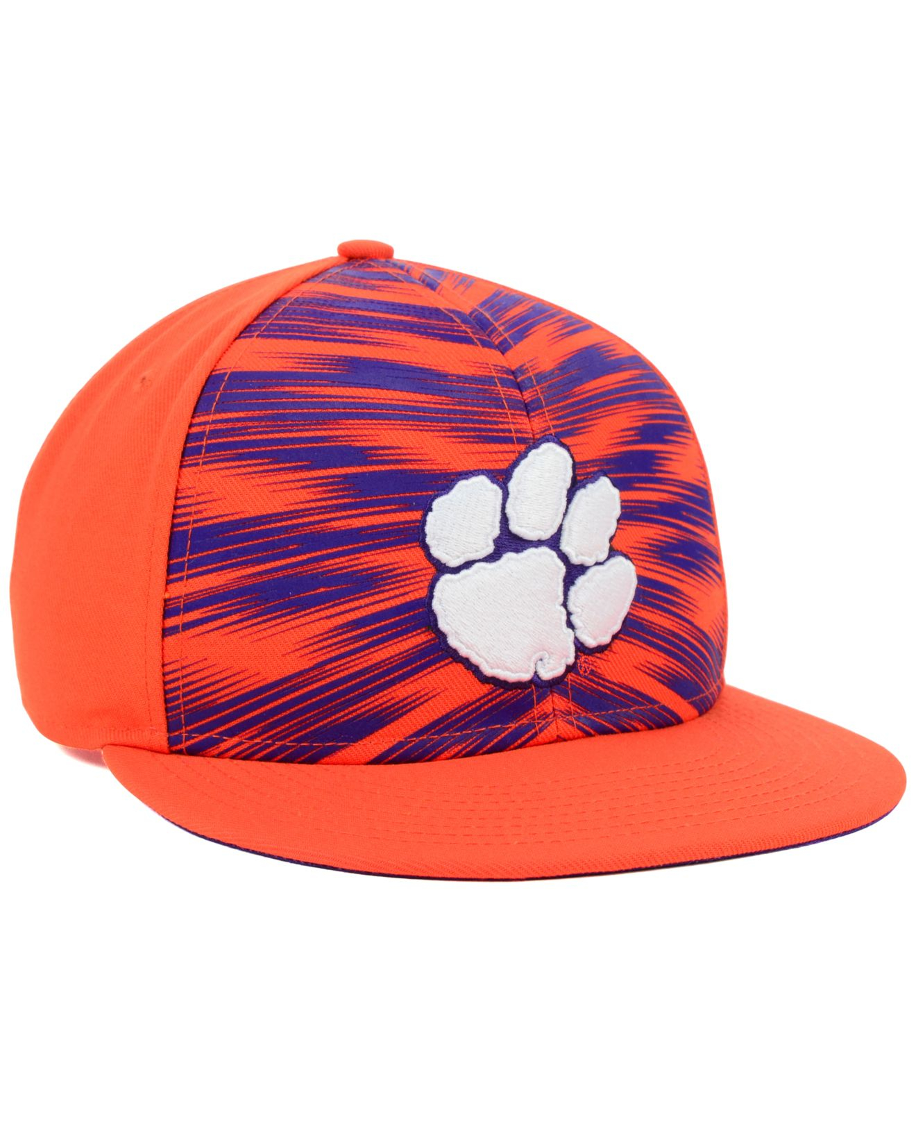 51bd8a5758f new style youth nike orange clemson tigers sideline performance adjustable  hat 65203 c1270  reduced lyst nike clemson tigers game day snapback cap in  purple ...