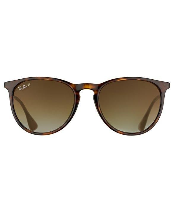 Ray Ban Sunglasses 4171  ray ban erika rb 4171 710 t5 matte havana round plastic sunglasses