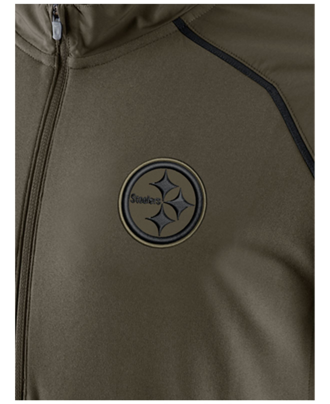 new styles 798a1 ff33e Nike Green Men's Pittsburgh Steelers Salute To Service Hybrid Quarter-zip  Pullover for men