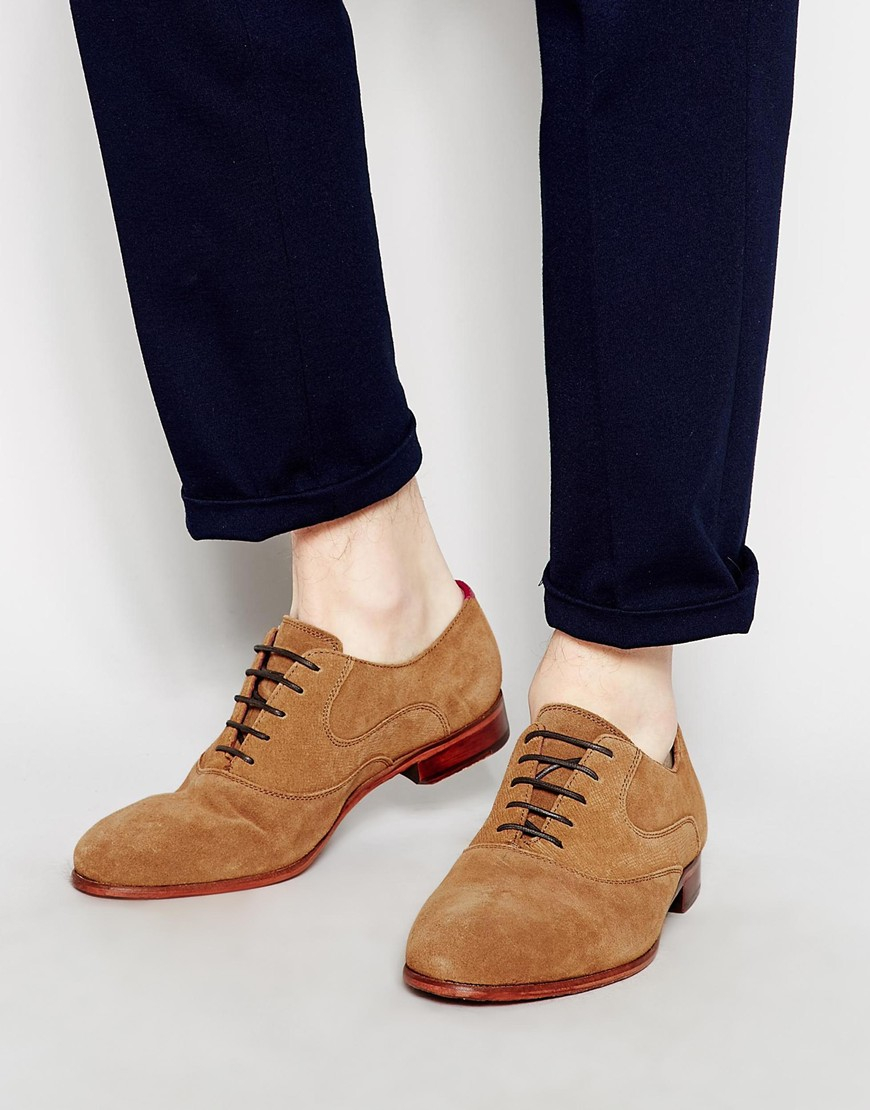 Ted Baker Luhwice Suede Oxford Shoes in