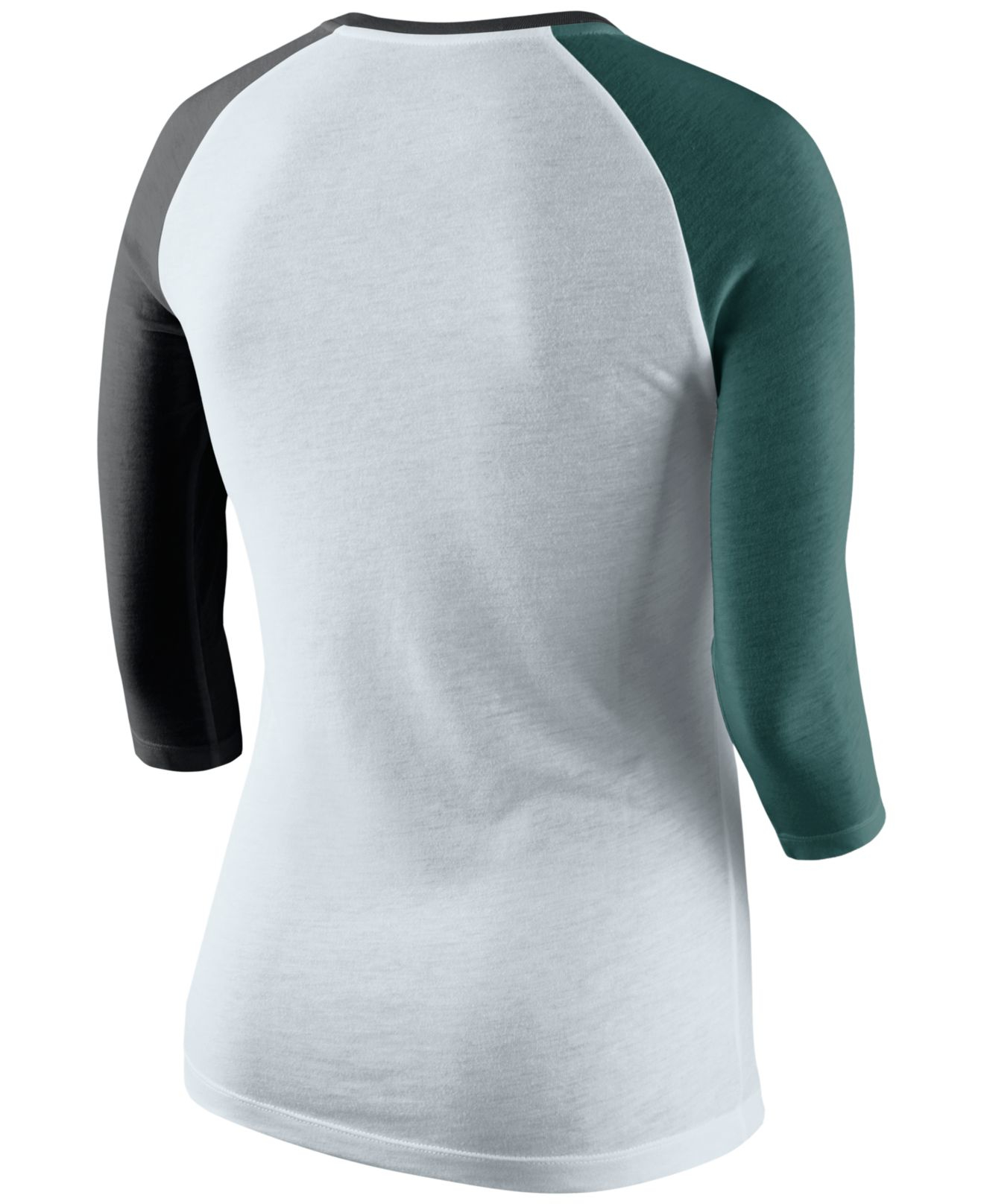 uk availability c1b0d bc693 Nike Women's Philadelphia Eagles Strong Side T-shirt in ...