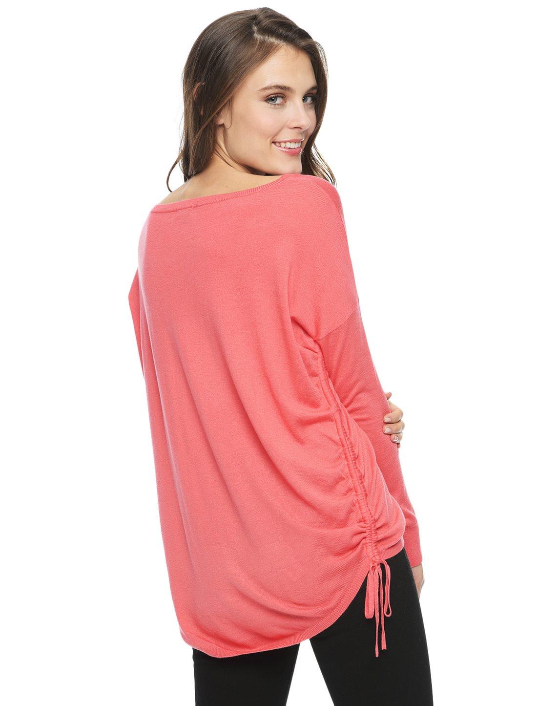 splendid cashmere blend pullover in pink lyst. Black Bedroom Furniture Sets. Home Design Ideas