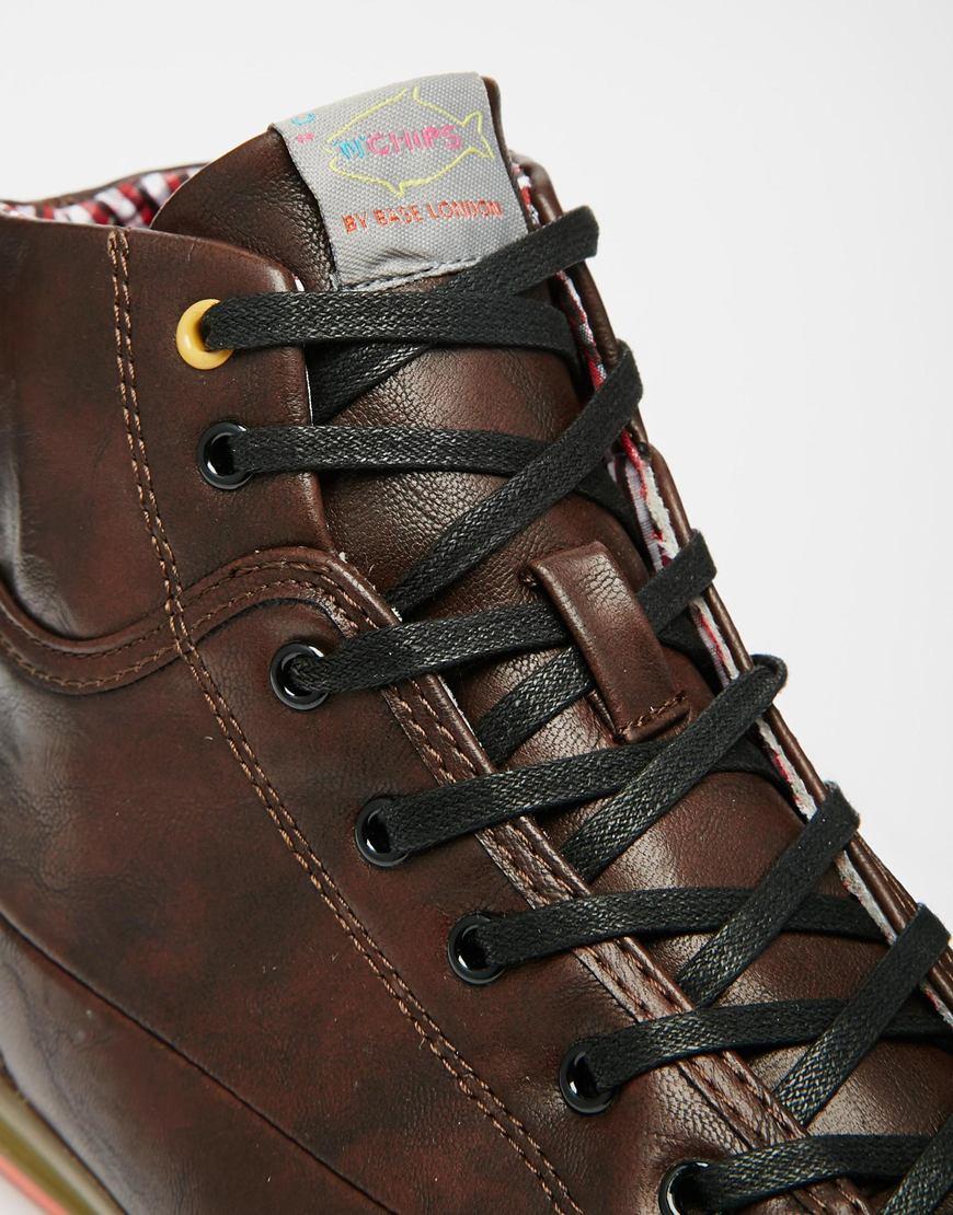 Buy Men Shoes / Fish 'n' Chips From Base London Hi-tops
