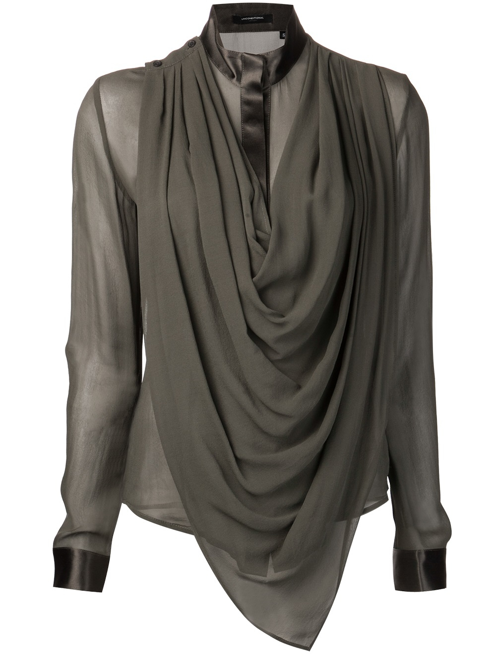 stand drapes on draping the img draped fabrickated blouse schiaparelli