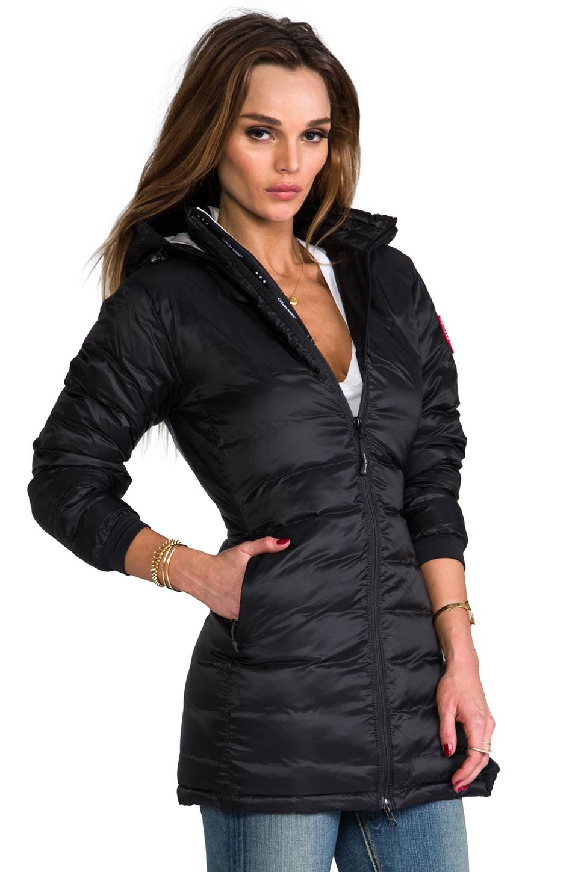 canada goose lightweight camp hooded jacket