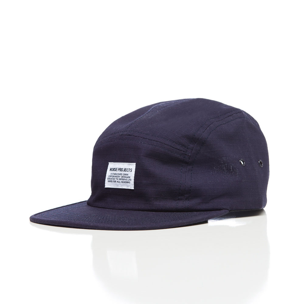 08c97ca8c91ae Norse Projects Ripstop 5 Panel In Navy in Blue for Men - Lyst