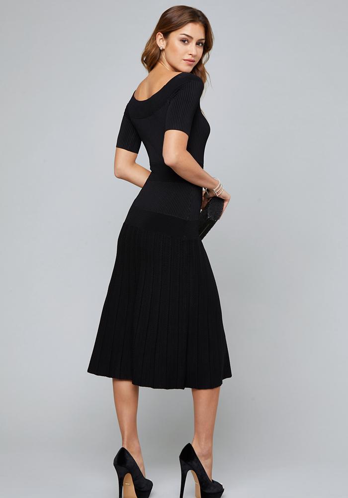 26c7a26b4b5b Bebe - Black Tatiana Dress - Lyst. View fullscreen