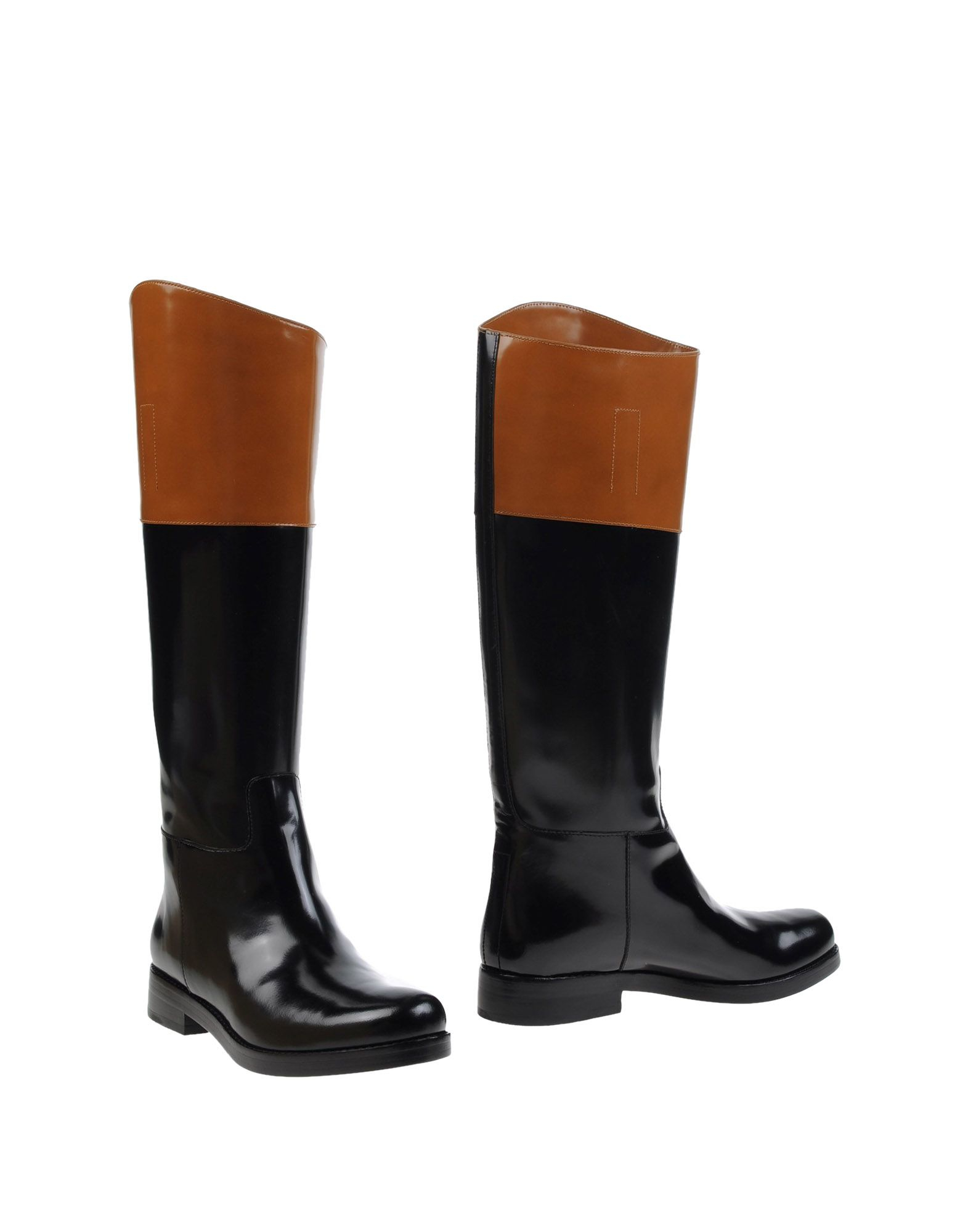 michael kors boots in black lyst