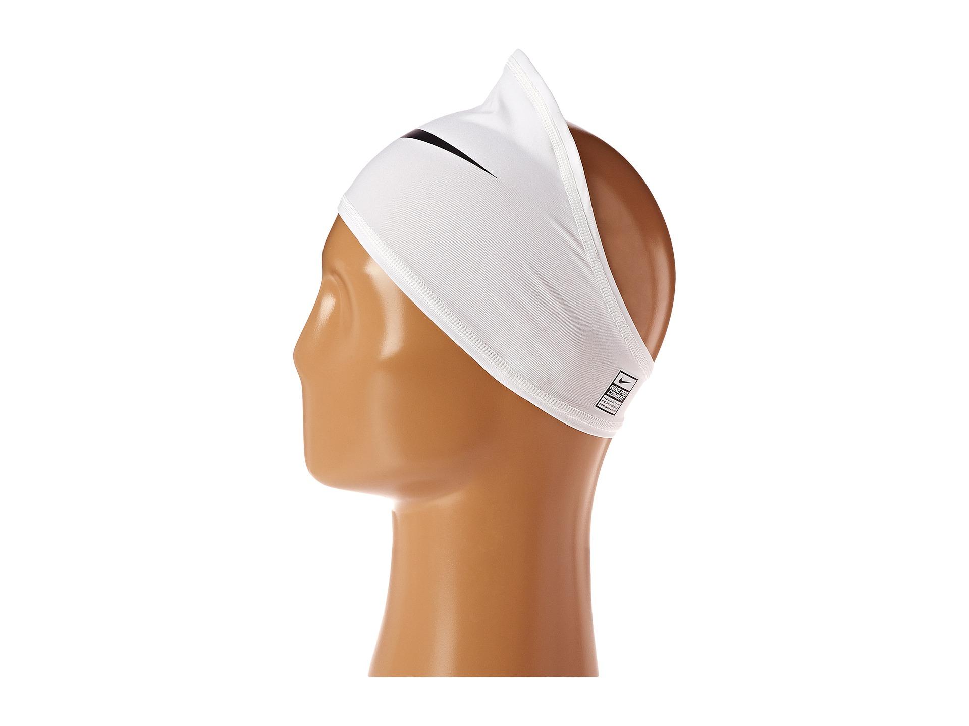 Nike Pro Combat Skull Wrap In White For Men Lyst