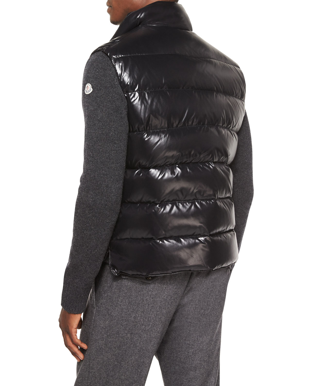 Lyst Moncler Tib Puffer Vest In Black For Men