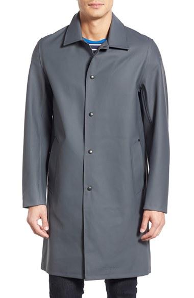 Stutterheim &39vasastan&39 Waterproof Car Coat in Gray for Men | Lyst