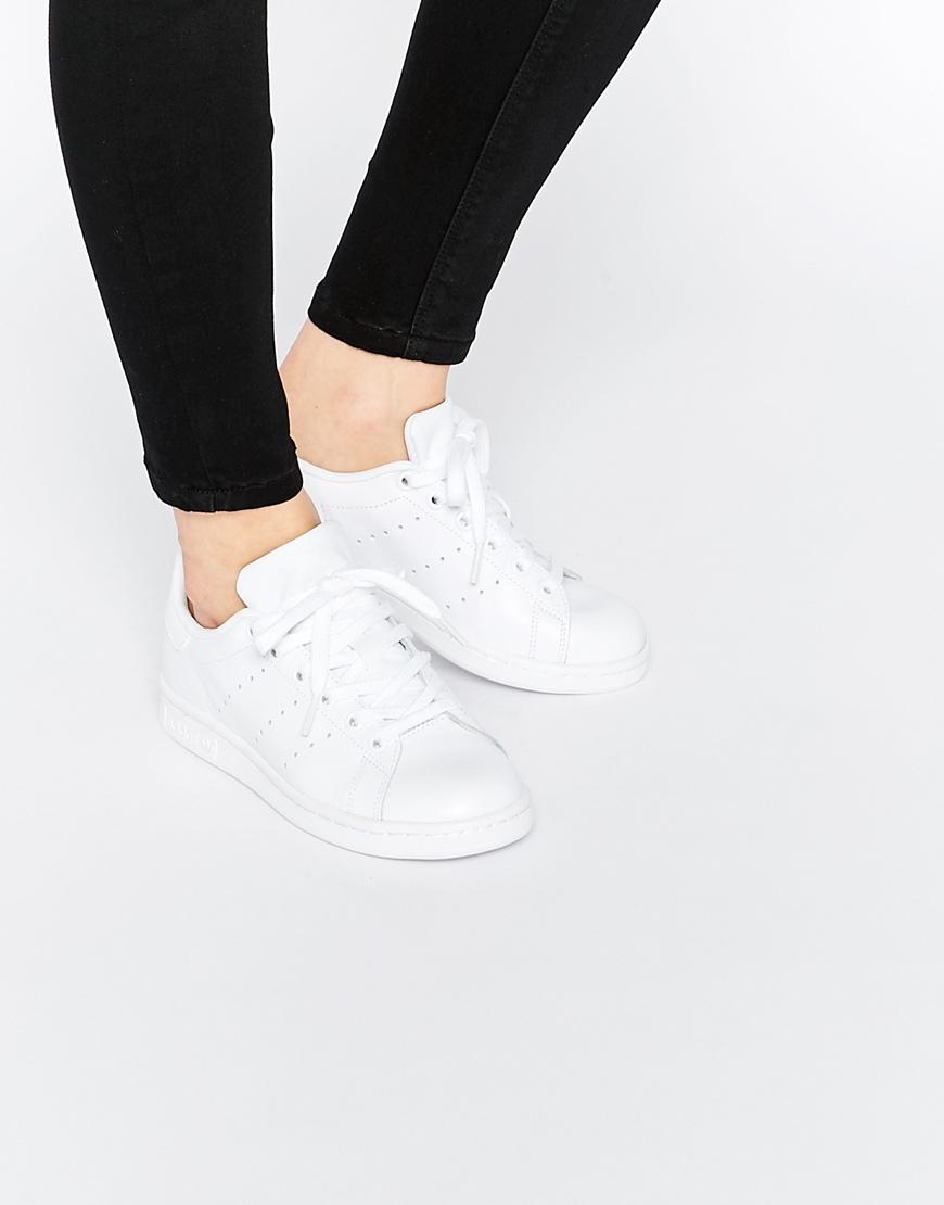 san francisco 8b340 5503d Women's Originals Triple White Stan Smith Sneakers