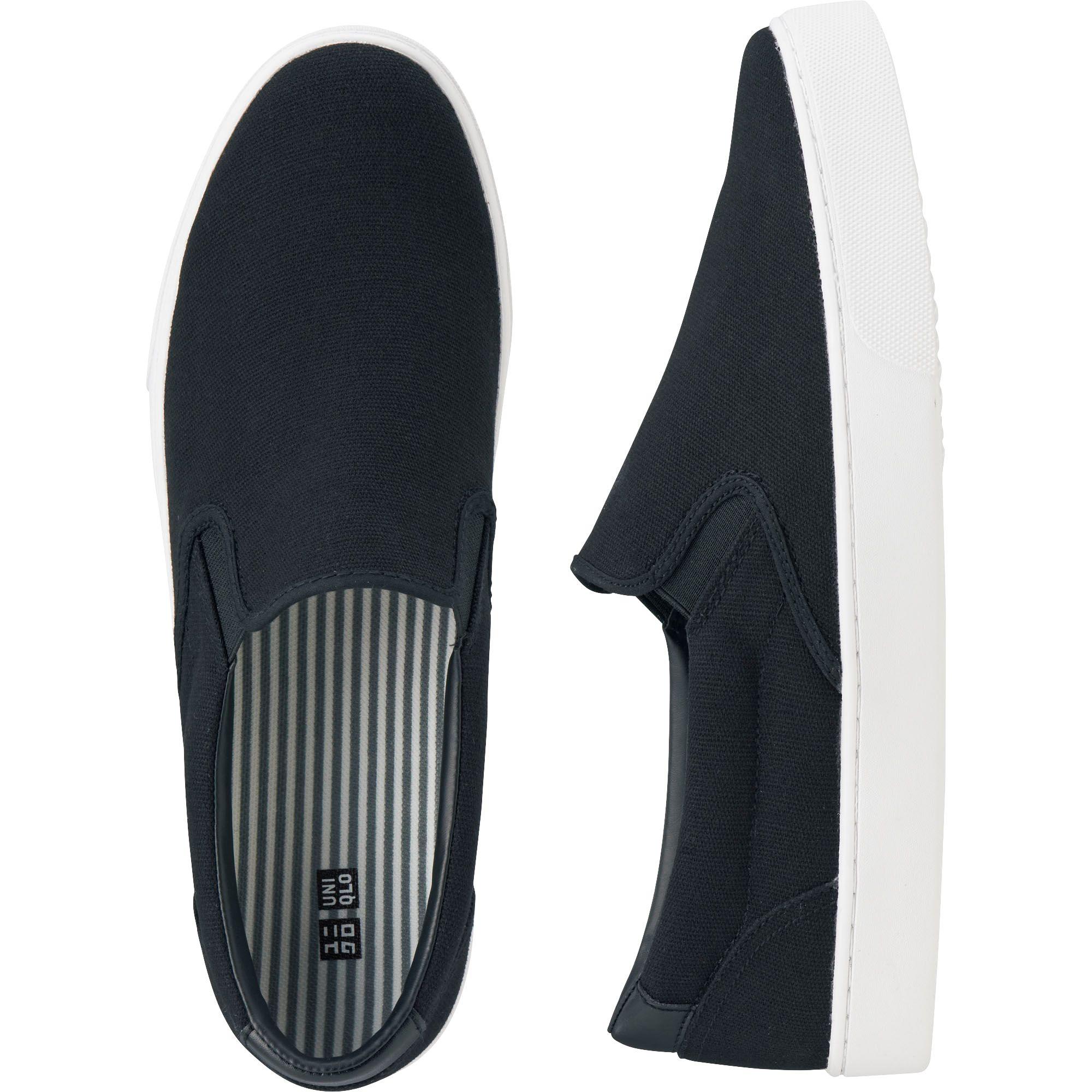 Uniqlo Men Slip On Sneaker In Black For Men Lyst
