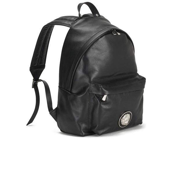 Versus Men's Lion Head Backpack in Black