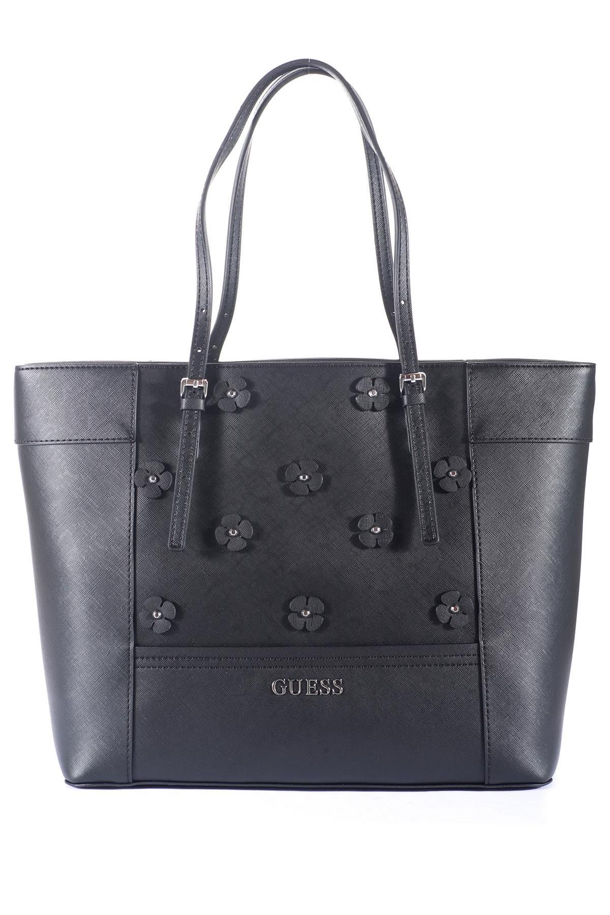 guess big bag in black lyst. Black Bedroom Furniture Sets. Home Design Ideas