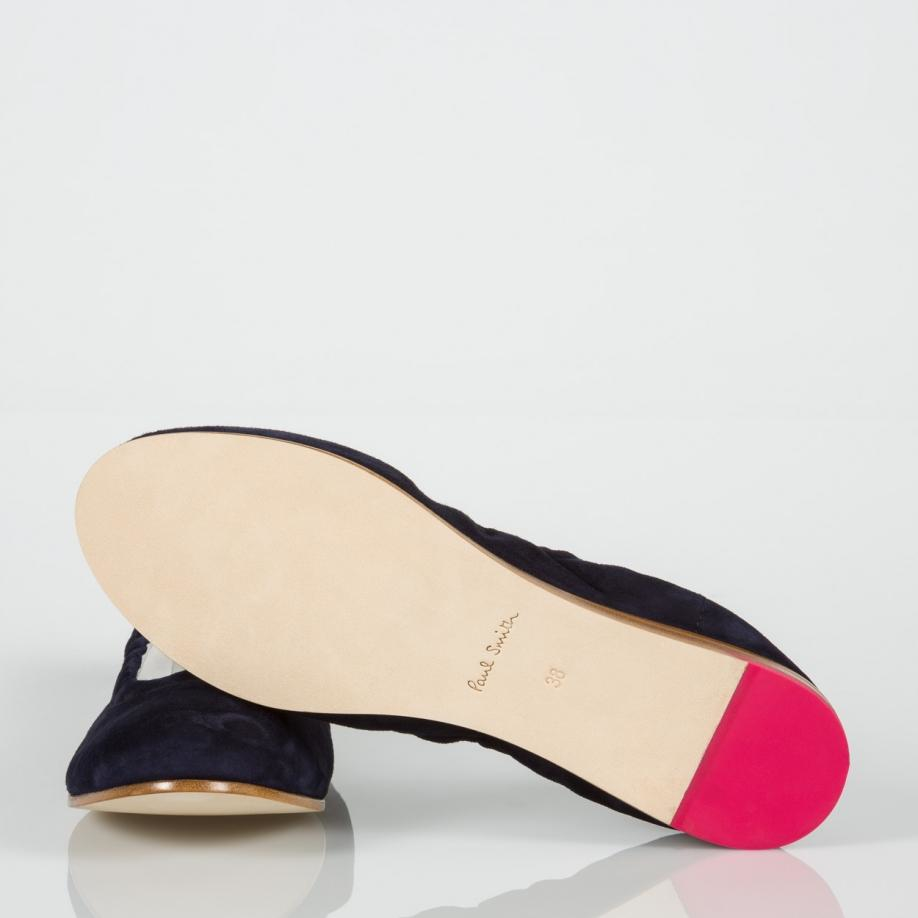 Paul Smith Women Ballet Flats Pink Black