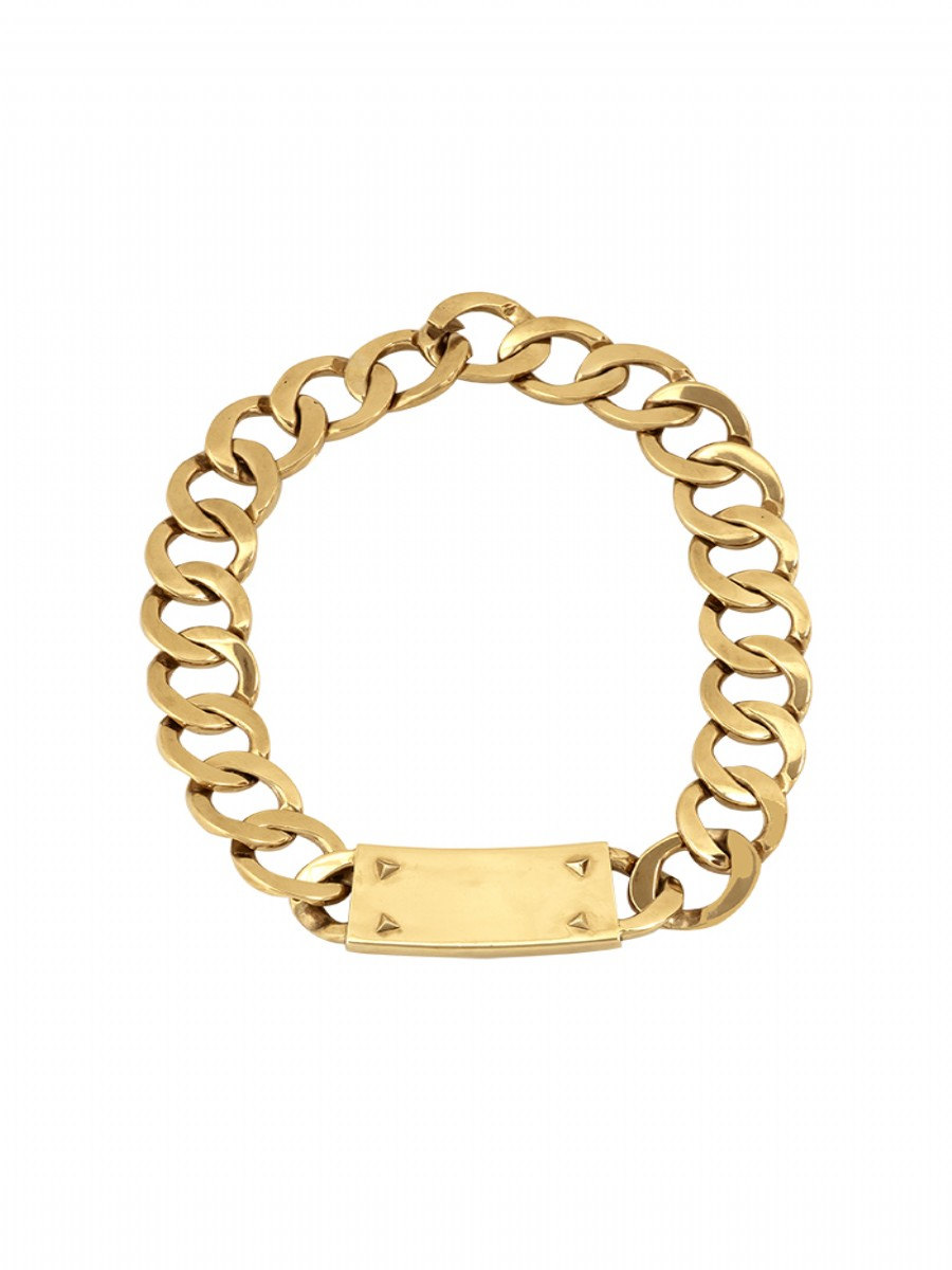 house of harlow 1960 id necklace in gold lyst