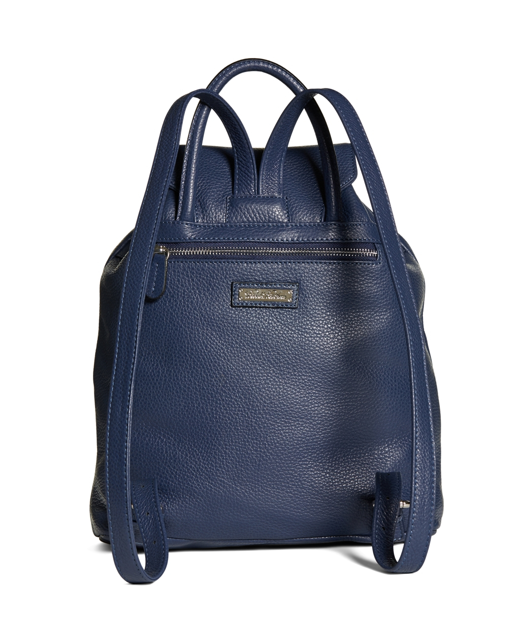 Brooks brothers Leather Backpack in Blue for Men | Lyst