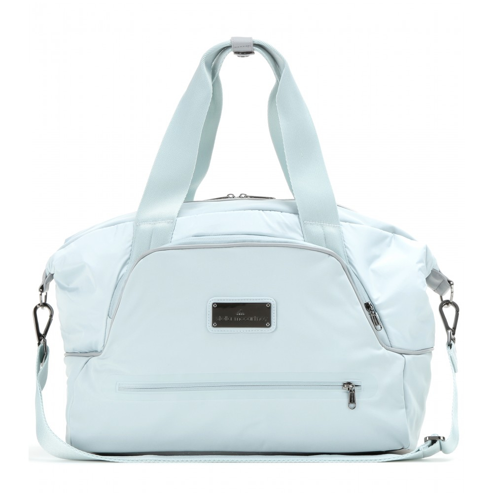 Lyst - adidas By Stella McCartney Iconic Small Gym Bag in Blue 89d81a5d65e98