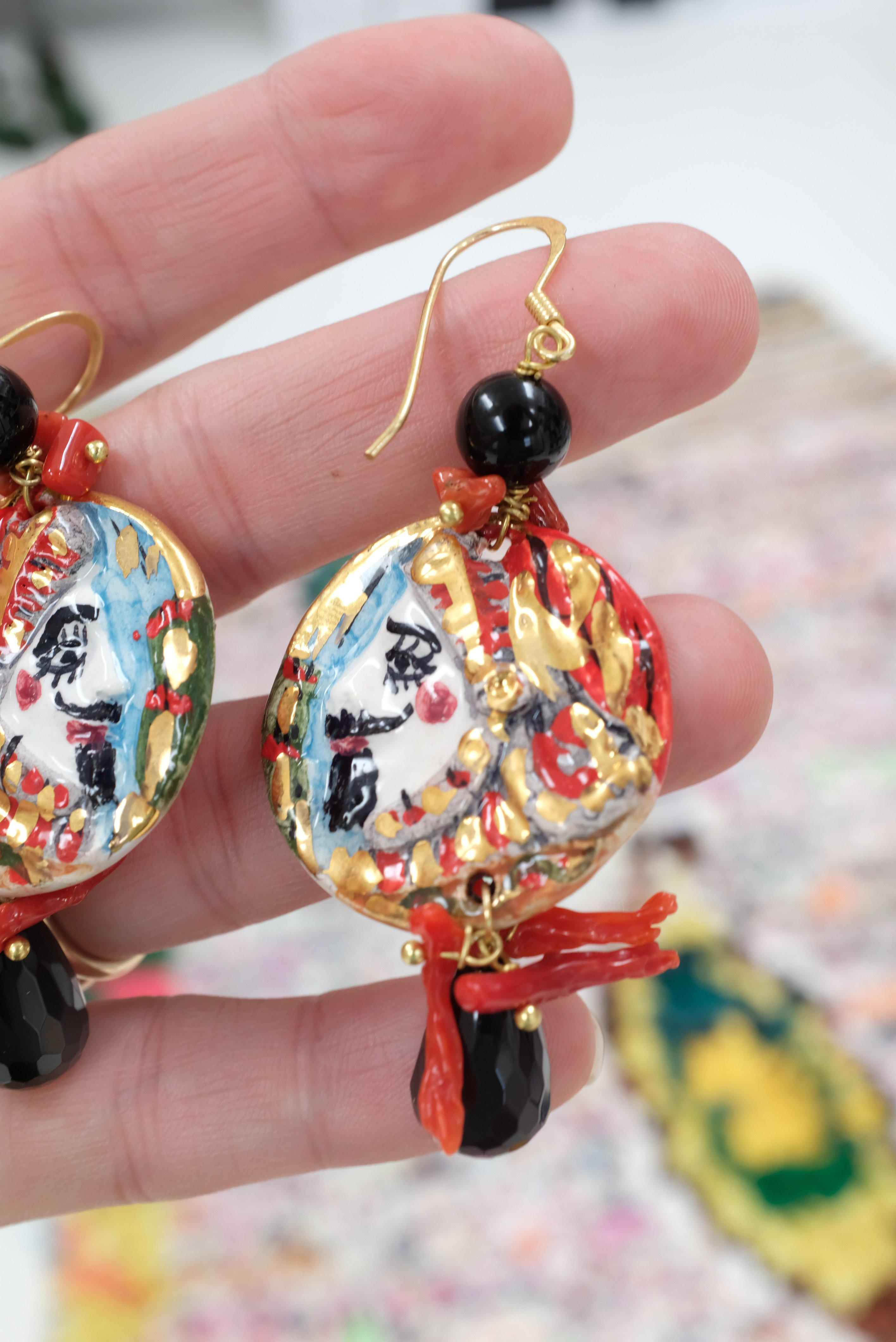 watch diy painted youtube earrings hand