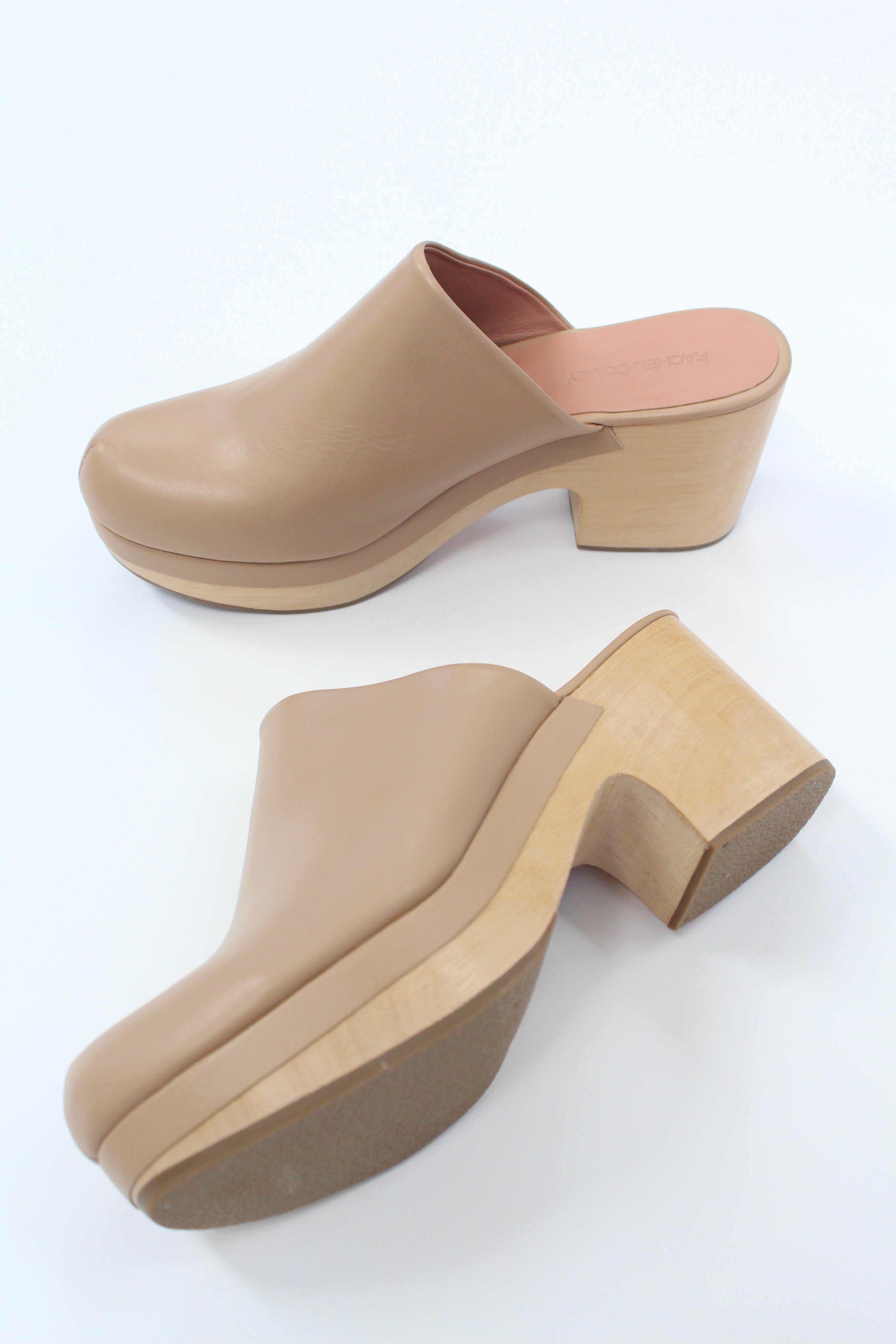 Rachel Comey Leather Bose Clog Stone - Lyst