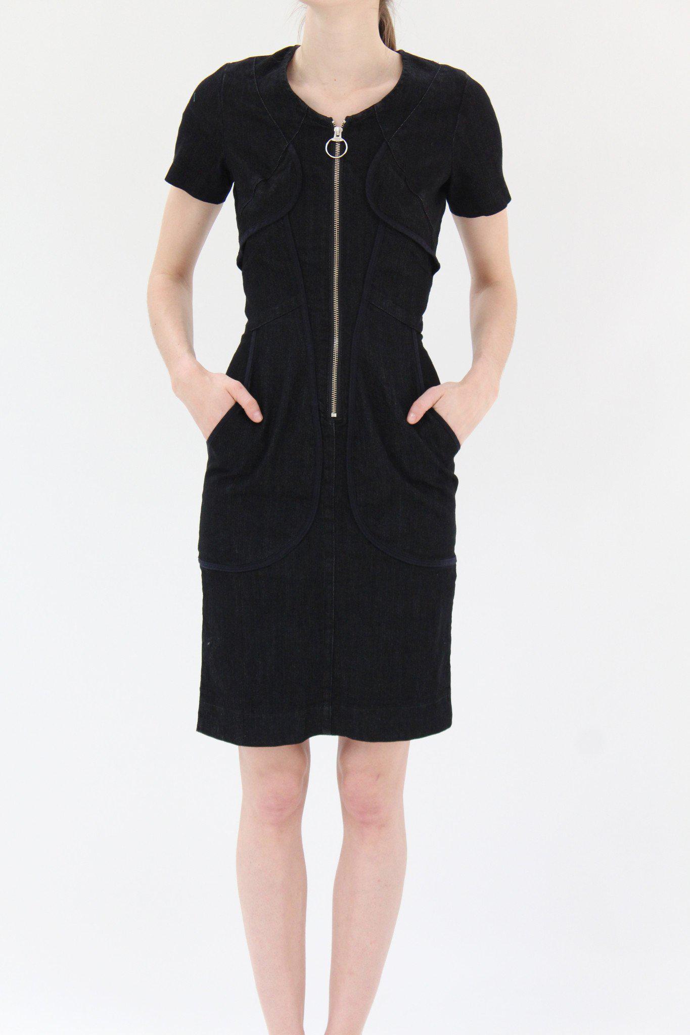 c7bcfb301337 Lyst - Prairie Underground Harness Dress Black in Black