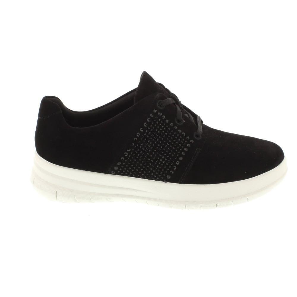 033e4890d37ed Lyst - Fitflop Sporty Pop X Crystal Sneaker in Black