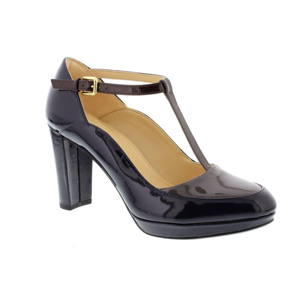 Clarks Kendra Navy Shoes