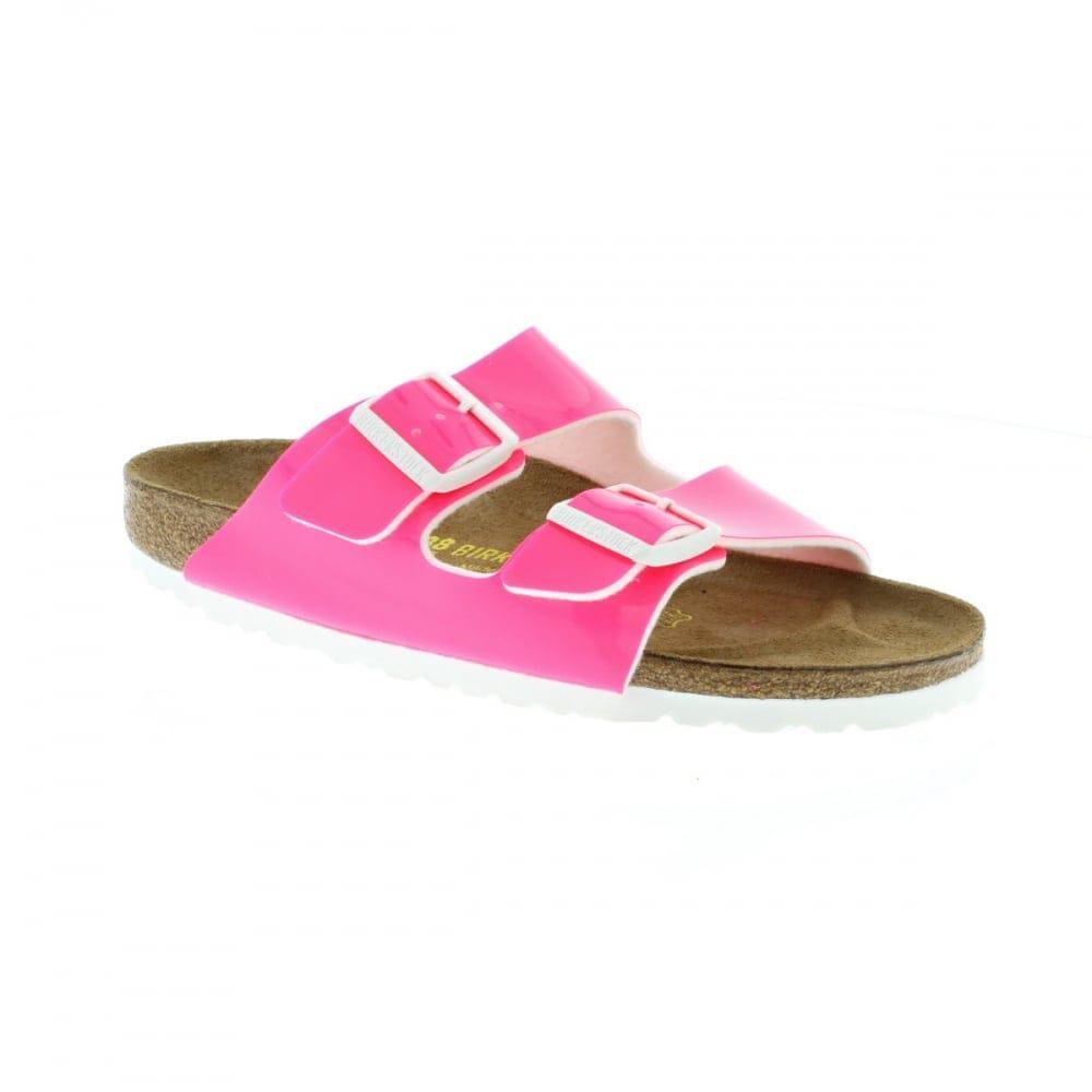 05b58a3b0b5f Lyst - Birkenstock Arizona Narrow Fit in Pink