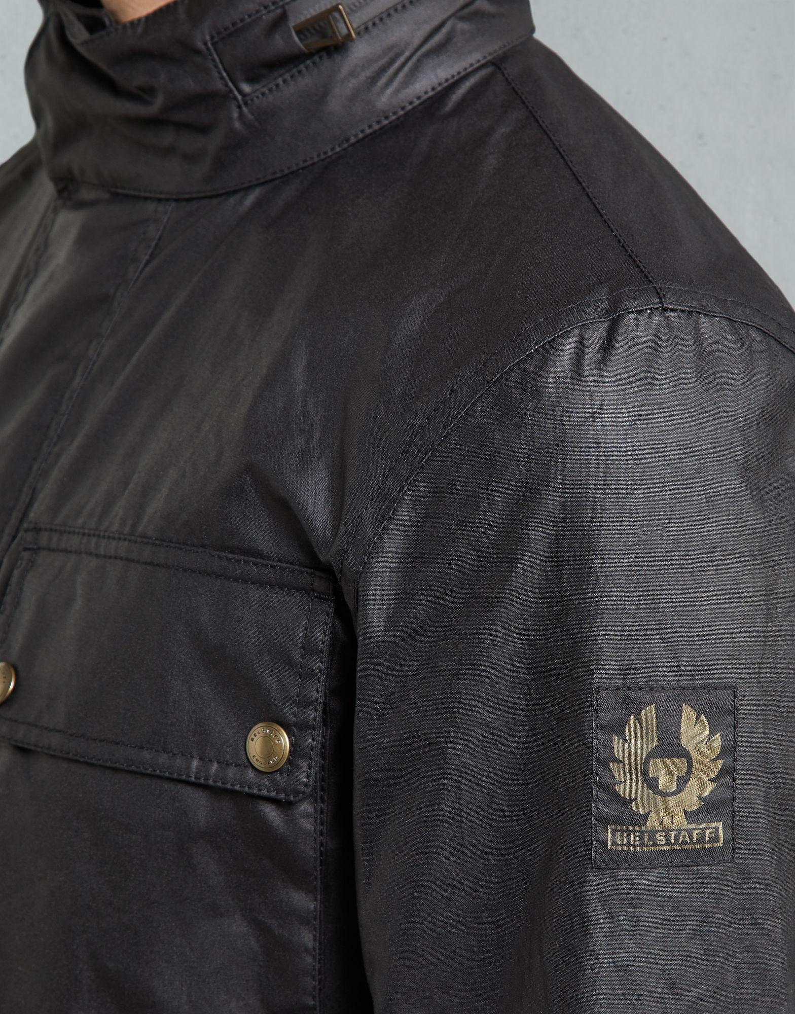 47cf416fbe Lyst - Belstaff Explorer Jacket in Black for Men