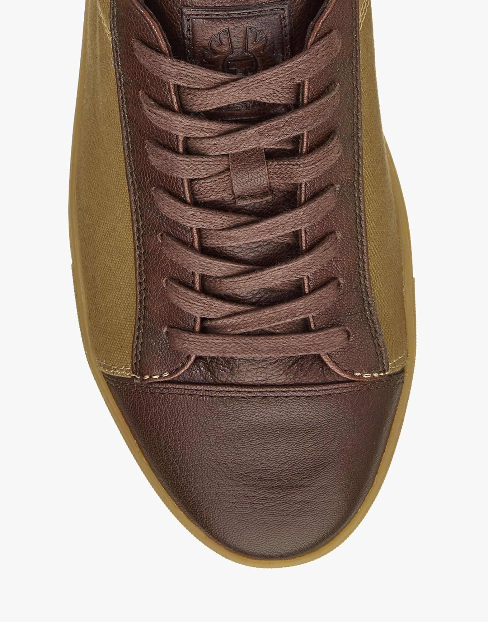 4afe9d030a2 Belstaff Wanstead Sneakers in Brown for Men - Lyst