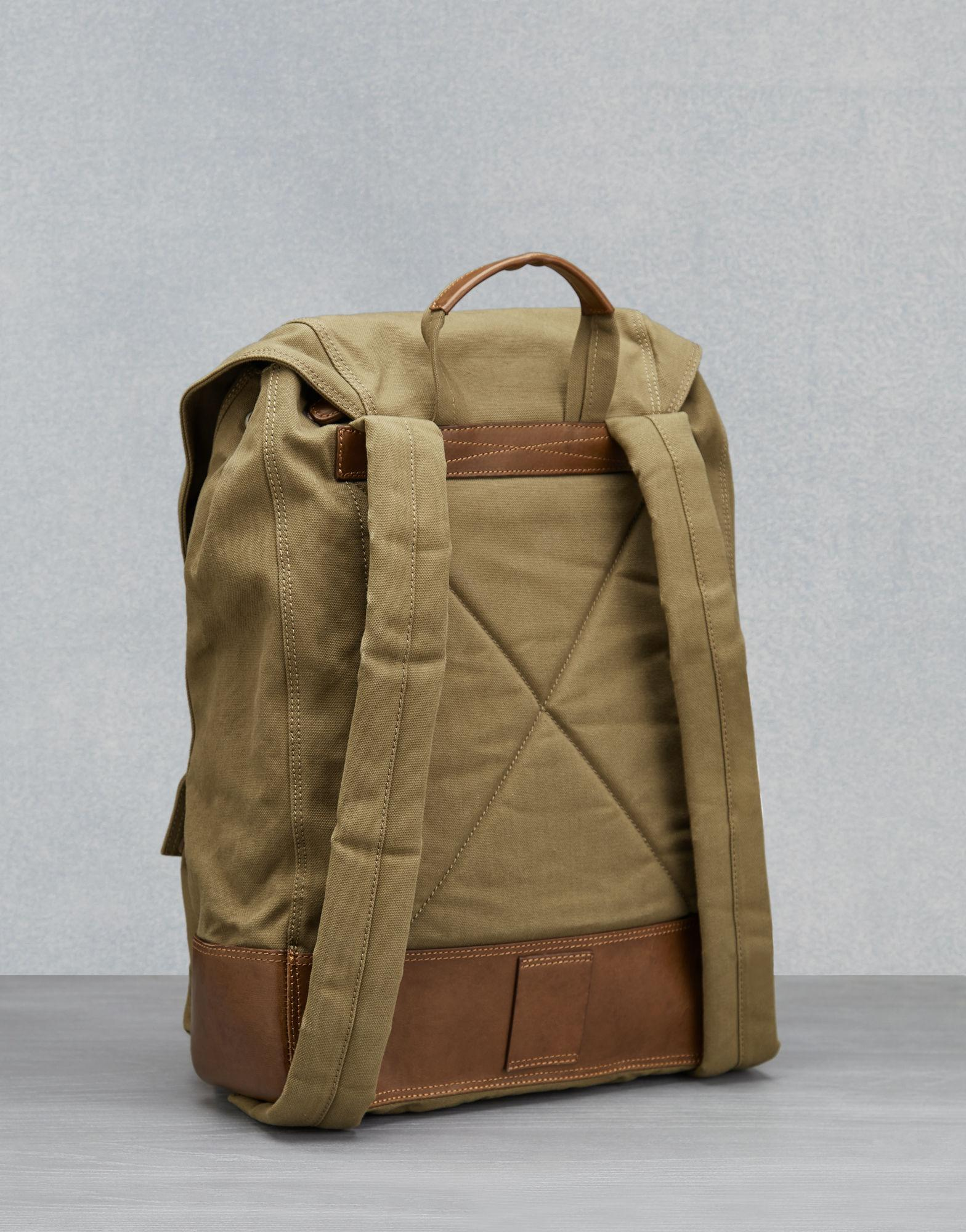 Lyst - Belstaff Colonial Backpack in Natural for Men a8eae25166