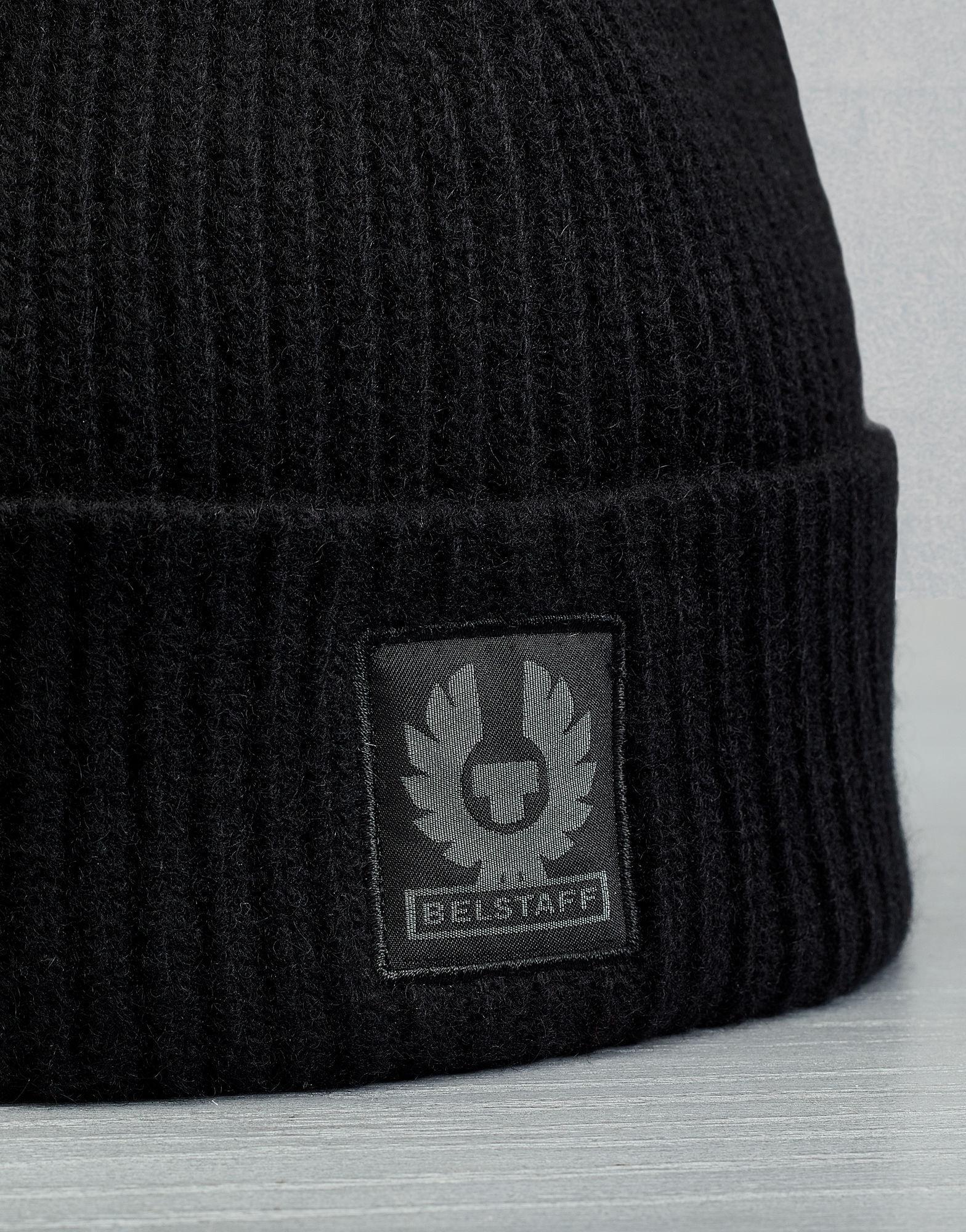 e1805505f Men's Black Seabrook Knitted Hat
