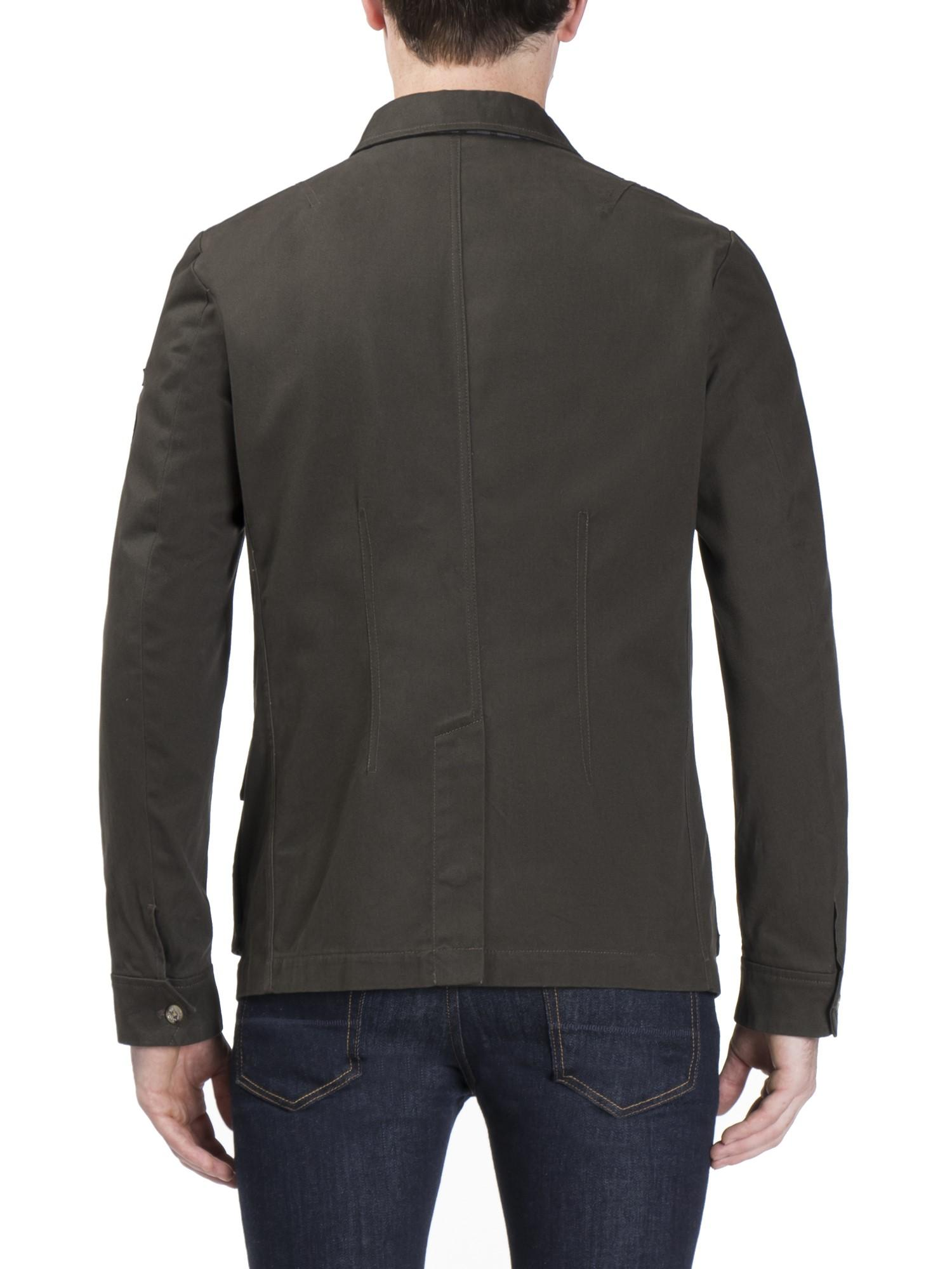 Ben Sherman Cotton Military Style Jacket for Men