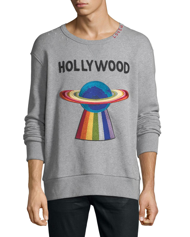a1b05d535de Lyst - Gucci Hollywood Ufo Sweatshirt in Gray for Men