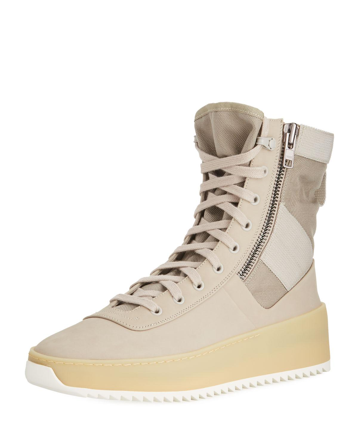 fear of god military shoes