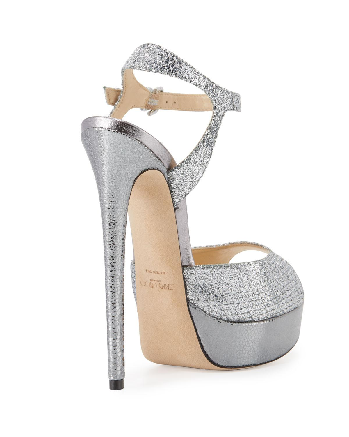 2f55168f78f Gallery. Previously sold at  Bergdorf Goodman · Women s Jimmy Choo Glitter  ...