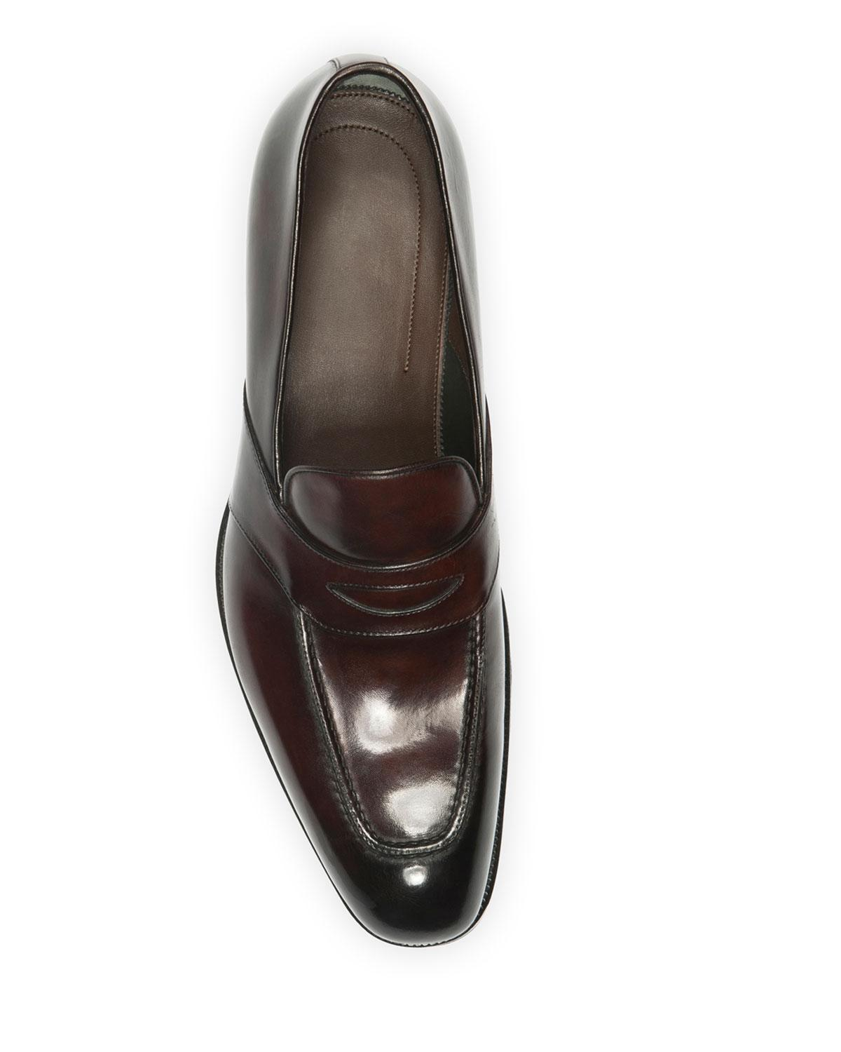 958b3749349 Tom Ford Charles Penny Loafer in Brown for Men - Save 6% - Lyst
