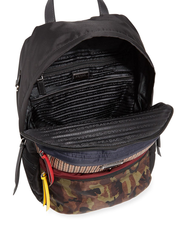 d530f0f37ba6 ireland prada backpack blue plaid 2ab99 fd6a5