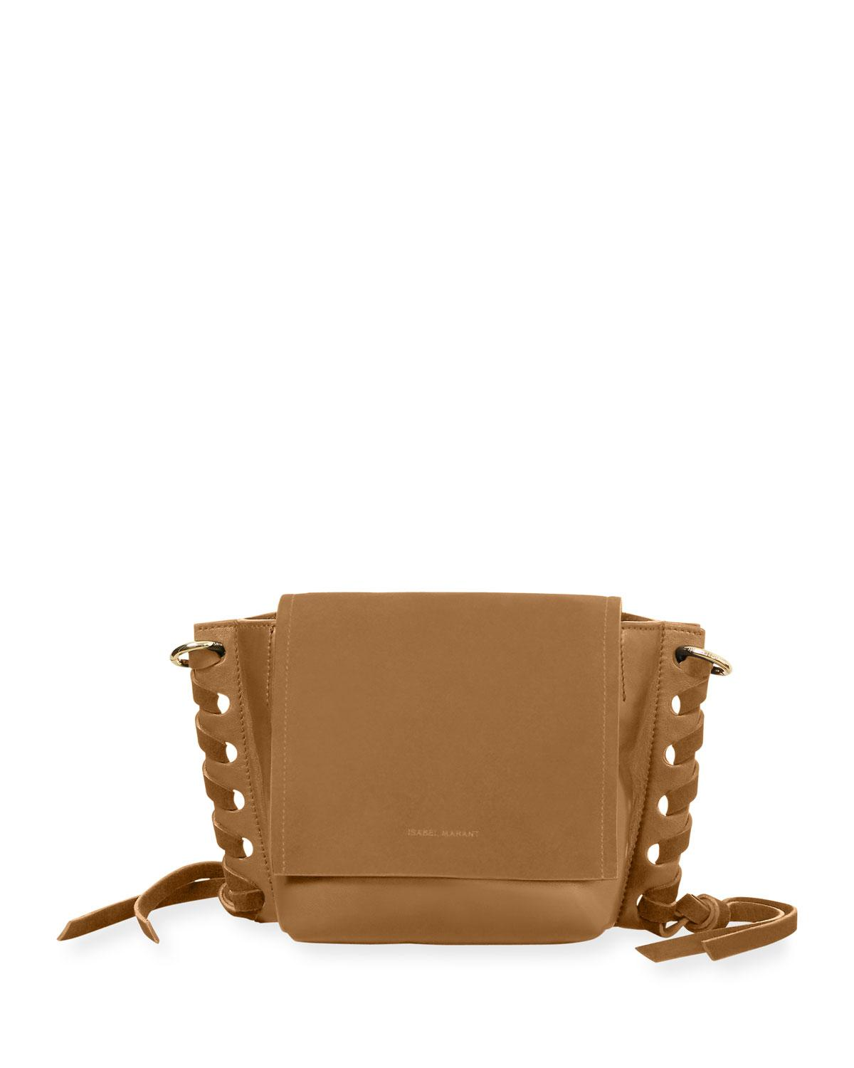 Kleny In Leather Marant Bag Brown Lyst And Isabel Suede Crossbody SPTwSEFqx